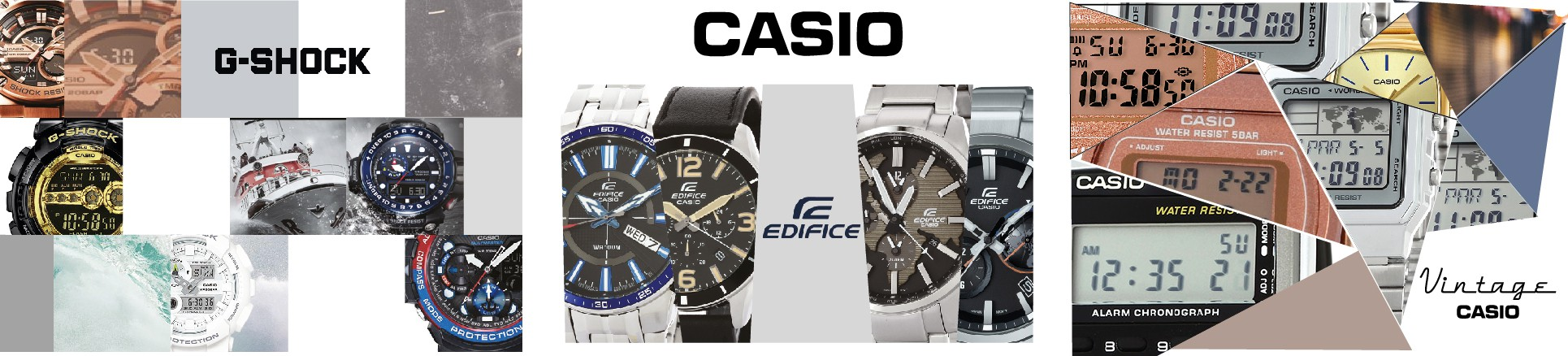 Casio Montres Collections Vintage Edifice G-Shock