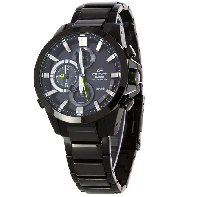 montre casio edifice bluetooth ecb 500dc 1aer sur mode in motion. Black Bedroom Furniture Sets. Home Design Ideas
