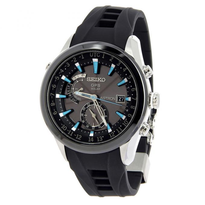 montre seiko astron gps solaire sast009g sur mode in motion. Black Bedroom Furniture Sets. Home Design Ideas
