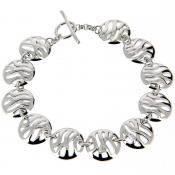 Hot Diamonds - Bracelet Arabesque DL117 (argent - diamant) - Bijoux femme hot diamonds