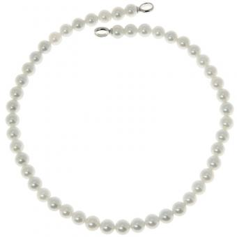 Collier Pearl white 8 mm 3693PW/42