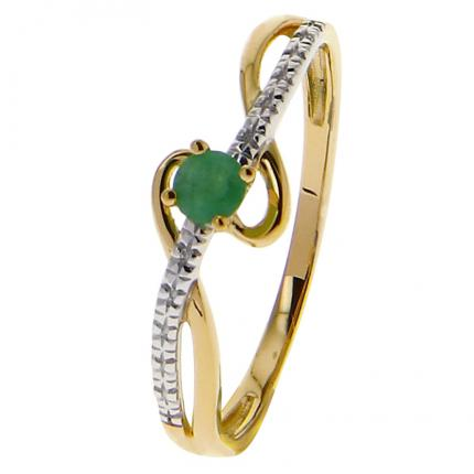Bague Femme Or 9 Carats 09PE57BE-54
