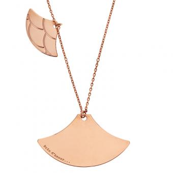 Collier Massai doré rose CO171DSMDO