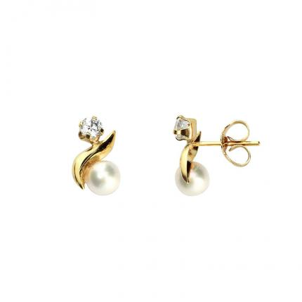 Boucles d'oreille Tendresse OR 9 CARATS
