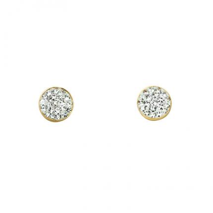 Boucles d'oreille Shine lady OR 9 CARATS