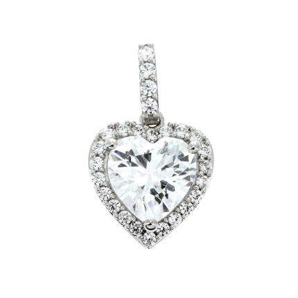 Pendentif Amour toujours OR 9 CARATS