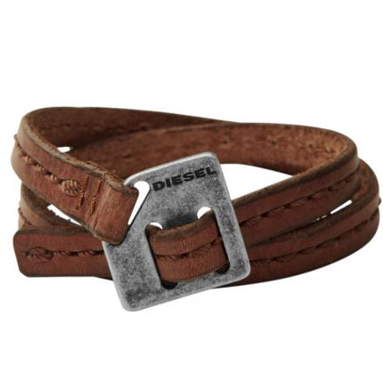 Bracelet Leather Cuffs DX0568040 DIESEL