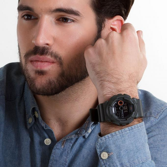 Montre Casio G Shock Gd 100ms 3er Military Sur Mode In Motion