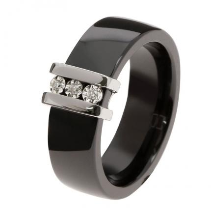 Bague Femme Ultimate Ceramic 09C23GCNB-54