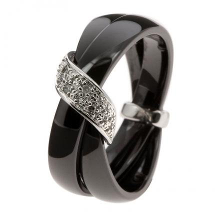 Bague Femme Ultimate Ceramic 09C44GCNB-54