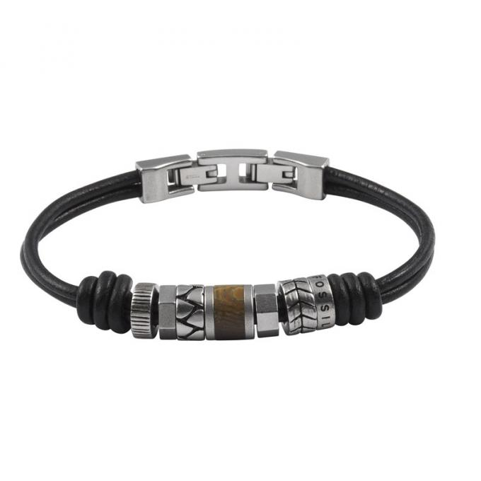 bracelet fossil bracelet vintage casual jf84196040 fossil homme. Black Bedroom Furniture Sets. Home Design Ideas