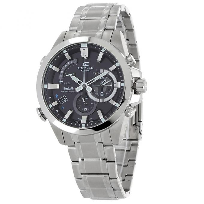 montre casio edifice eqb 510d 1aer mim bluetooth sur mode in motion. Black Bedroom Furniture Sets. Home Design Ideas