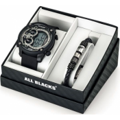 All Blacks - 680493 - Montre silicone homme