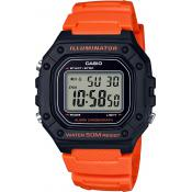 Casio - W-218H-4B2VEF - Montre homme orange