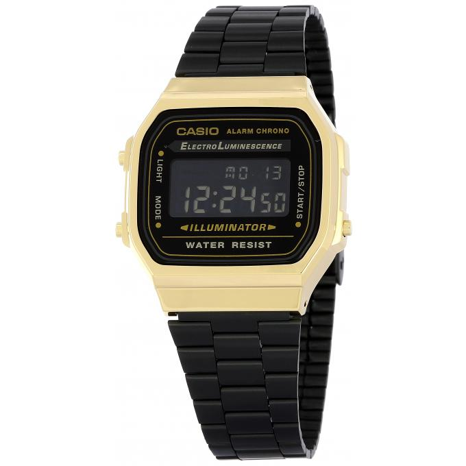 montre casio standard a168wegb 1bef sur mode in motion. Black Bedroom Furniture Sets. Home Design Ideas