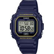 Casio - Casio Collection F-108WH-2A2EF - Soldes montres homme