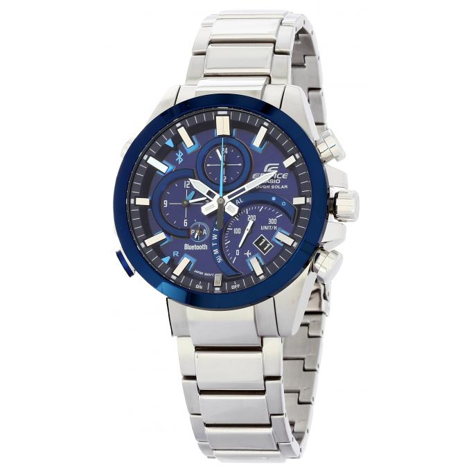 montre casio new edifice eqb 500db 2aer sur mode in motion. Black Bedroom Furniture Sets. Home Design Ideas