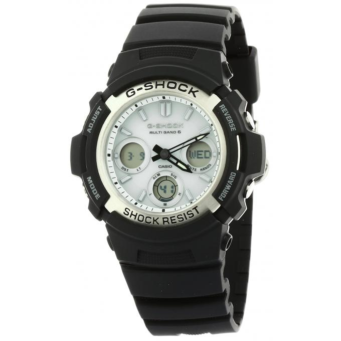 montre casio g shock g classic awg m100s 7aer sur mode in motion. Black Bedroom Furniture Sets. Home Design Ideas