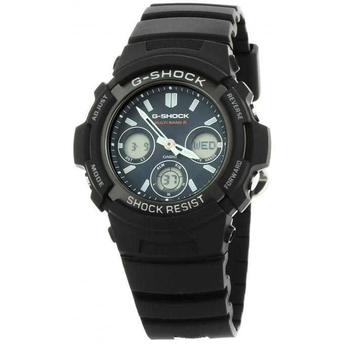montre casio g shock g classic awg m100sb 2aer sur mode in motion. Black Bedroom Furniture Sets. Home Design Ideas