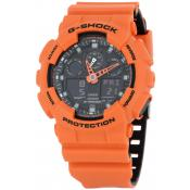 Casio - G-SHOCK GA-100L-4AER - Montres casio g shock quartz