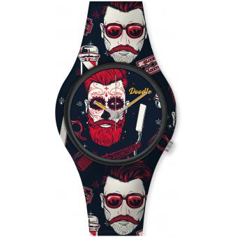 Doodle - Street Fighter Mood DO42001 - Montre silicone homme