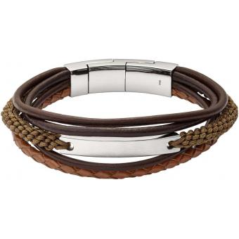 Fossil - JF02703040 - Bijoux cuir homme
