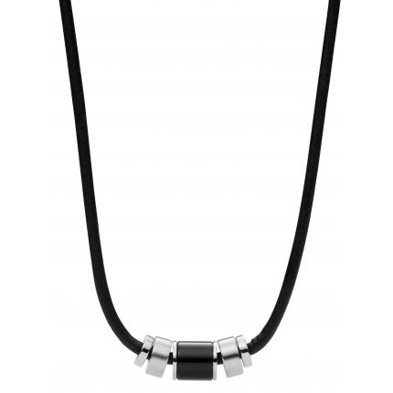 Collier et pendentif Homme Fossil JF02926040