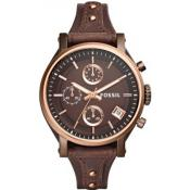 Fossil - Fossil ES4286 - Montres homme vintage