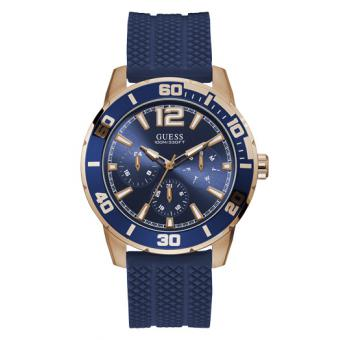 Guess - W1250G2 - Montre silicone homme