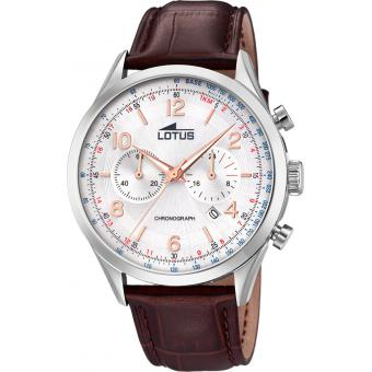 Lotus - Smart Casual L18557-1 - Montre bracelet cuir homme