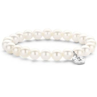 Bracelet Pearl white 8 mm 2610PW