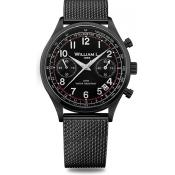 William L - Vintage Style Chronograph WLIB01NRMMN - Montre william l
